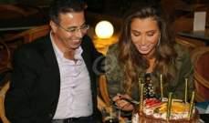 خاص الفن-  أنابيلا هلال تحتفل بعيد زواجها وتتلقى هديتين