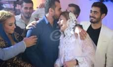 زكريا فحام يحتفل بزواج هلا المر بحفل مميز