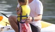 كريس هيمسوورث يحرص على سلامة إبنته بشدة