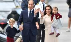 الأمير وليام وكيت وولداهما يودعون كندا ويعودون إلى بريطانيا