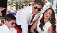 سايمون كاول يتلقى نجمة على رصيف المشاهير في هوليوود
