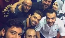 نيكولا مزهر يحتفل بعيد ميلاد رجا ناصر الدين ..بالصورة