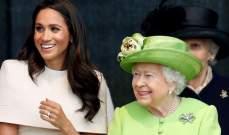 صورة مثيرة ومسيئة تغضب البريطانيين.. الملكة إليزابيث الثانية تخنق ميغان ماركل
