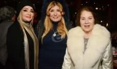 خاص بالصور- سهير رمزي تحتفل بعيد ميلادها بحضور بوسي وشهيرة وسمير صبري