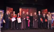 زبيدة ثروت وبوسي ونيكول سابا والنجوم مكرمون من مهرجان المركز الكاثوليكي للسينما