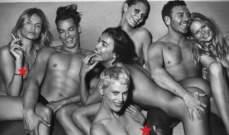بالصورة.. إيرينا شايك مع أصدقائها بوضع اباحي!
