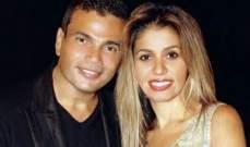 بعد فضيحته مع دينا الشربيني ...زوجة عمرو دياب تخلع خاتم زواجها - بالفيديو