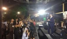 إيوان يحتفل مع جمهوره بعيد الأضحى في حمانا.. بالصور