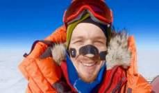 رجل يجتاز القطب الجنوبي وحيداً.. بالصور