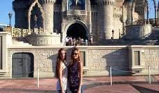 رينا ورومي شيباني في Walt Disney World
