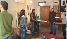 """زياد برجي يبدأ تصوير مسلسله """"بلحظة"""".. بالصور"""