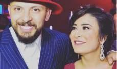 حاتم عمور يدعم زوجته بعد ظهورها حليقة الرأس معلنة إصابتها بالسرطان-بالصورة