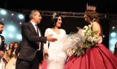 بالصور- نادر صعب يتوج ماريا فرهاد ملكة جمال العراق 2021