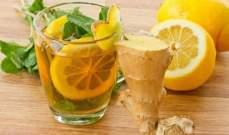 ريجيم الزنجبيل والليمون للتخلص من دهون البطن والخصر بأسرع وقت