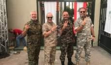 خاص الفن - الفرسان الأربعة أبطال في عيد الجيش بالبدلة العسكرية