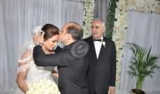 خاص بالصور- خالد زكي يحتفل بزفاف إبنه تامر بحضور نجوم الفن