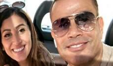 ممثلة مصرية تهاجم عمرو دياب ودينا الشربيني