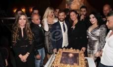خاص بالصور - رامي سلمون يحتفل بعيد ميلاده بحضور أهل الفن والصحافة