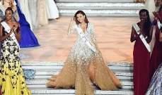 فستان فاليري بو شقرا المبهر بتوقيع زهير مراد