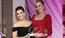 ميلاني غريفيث تكرم بجائزة الإنسانية في دبي