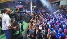 هشام الحاج يُكمل حفلاته الصيفية من المروج على أنغام الدبكة اللبنانية- بالصور