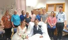 المرض يفسد فرحة رجل بعد ساعات من زفافه