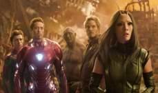 Avengers: Infinity War  في الصدارة
