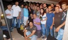 """أسرة """"كواليس المدينة"""" تحتفل بإنتهاء التصوير.. بالصور"""