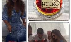 هيلدا خليفة تحتفل بعيد ميلادها مع عائلتها في جزيرة ميكونوس.. بالصور