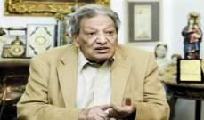 الموت يغيّب الكاتب المصري لويس جريس