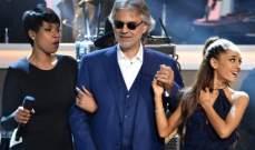 أندريا بوتشيلي يقلب المقاييس في ديو غنائي غير متوقع