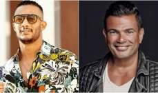 هل دخل عمرو دياب على خط خلاف محمد رمضان مع نقابة المهن الموسيقية؟