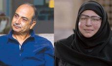 عبلة كامل وأحمد كمال بصورة نادرة والجمهور يشبهها بـ سعاد حسني
