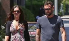 بعد خبر حملها..ميغان فوكس  تطل للمرة الأولى مع زوجها السابق