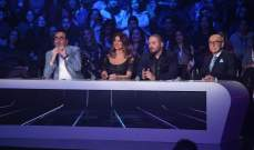 رامي عياش يتألق في الليلة التاسعة من ديو المشاهير وألين برمانا خارج المنافسة-بالصور