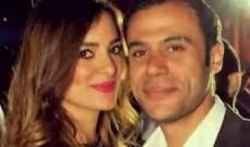 محمد عادل إمام يكشف عن موقف طريف مع زوجته.. بالصورة