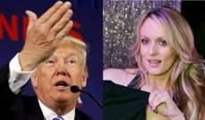 الممثلة الاباحية تربح دعوى ضد ترامب وتحصل على 450 ألف دولار