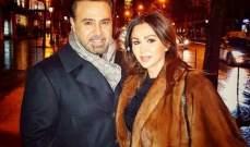 """عاصي الحلاني وزوجته برفقة بطلي """"الهيبة""""..فما القصة؟-بالصورة"""