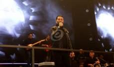 خاص بالصور-زياد برجي يطرب الحضور في عيد ميلاد الإعلامية هلا المر في الـKULT