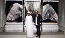 افتتاح معرض الفنان الفرنسي باتريك أموري  في الامارات
