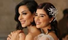 """زينة مكي لـ نادين نسيب نجيم: """"أحبّج وايد"""""""
