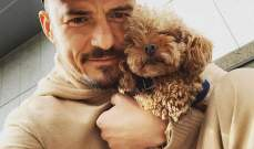 أورلاندو بلوم يبكي بعد خسارة كلبه..وهكذا خلّد ذكراه