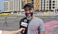 """خاص وبالصور- جيوفاني باسيل يسعى إلى دخول """"غينيس"""" بعلم لبنان.. ويكشف عن هدية يحلم بتقديمها لـ فيروز"""