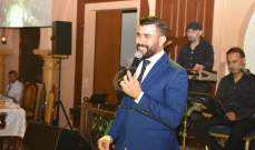 """خاص بالصور- ستار سعد يحتفل مع الجمهور في بيروت ويرقص على وقع """"يا طير"""""""