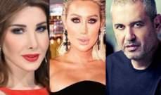 نانسي عجرم وإيلي صعب ومايا دياب وجه لبنان الجميل في اسطنبول