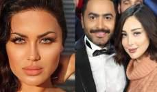 جليلة تثير الجدل بتعليقها على خبر إنفصال تامر حسني وبسمة بوسيل-بالفيديو