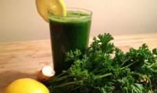 فوائد صحية مذهلة لعصير البقدونس.. تعرفوا عليها
