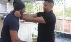 بالصور- قبل الخلاف.. هكذا ضحك وائل عبد العزيز وأحمد العوضي معاً