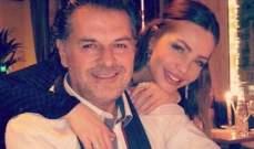 صور نادرة لـ راغب علامة وزوجته في زفافهما