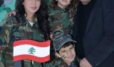 خاص الفن - دالي زاهي وهبي أصغر مجند في الجيش اللبناني..بالصور